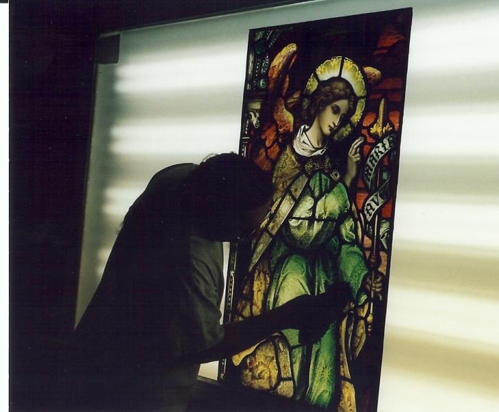 Gauge Church Staned Glass Windows